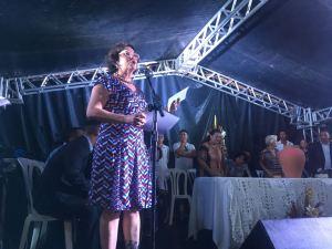 Durante posse, Márcia Lucena diz o povo assume com ela a prefeitura do Conde