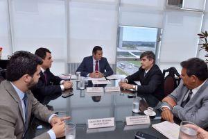 Em audiência com Wilson Filho, Wellington Roberto assegura vinda de ministro a JP