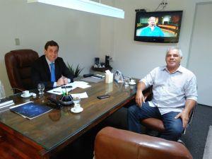 Articulação: Gervásio Maia se reúne com Edvaldo Rosas e fortalace projeto para 2018