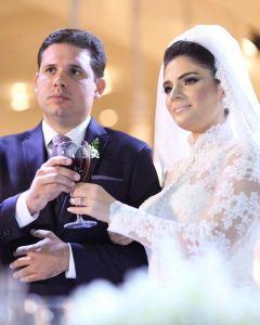 Lideranças nacionais prestigiam casamento de Hugo Mota em JP; veja as fotos