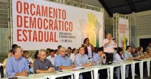 Ricardo antecipa plenárias do Orçamento Democrático e sinaliza saída do governo