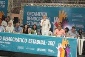 Ricardo comemora audiência em JP e institucionaliza Orçamento Democrático