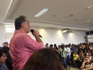 """""""A aliança foi formada para trabalhar por JP"""", diz Cartaxo sobre debate eleitoral"""