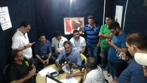 Cartaxo visita cidade do interior e concede entrevista à radio local neste sábado