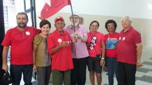 """""""Queremos que nessa Semana Santa o PT ressuscite"""", diz Luiz Couto durante eleições do PED"""