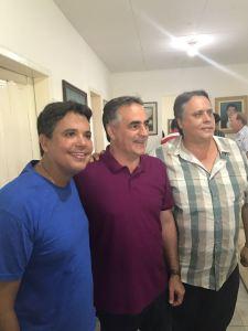 Cartaxo é recebido por lideranças de 12 cidades da região do Vale do Mamanguape