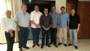 Romero Rodrigues e Cartaxo participam da inauguração de UPA em Patos
