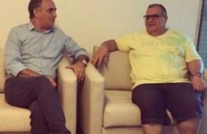 Rômulo e Luciano se reúnem para tratar de parcerias, após filiação de Zennedy ao PMN
