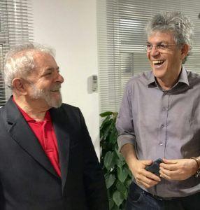 Ricardo se reúne com Lula em São Paulo e discute momento político do Brasil