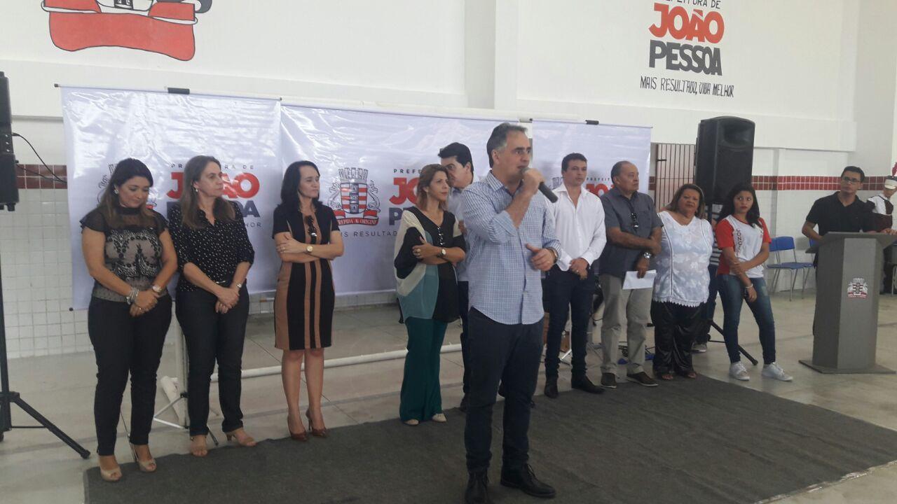 """Cartaxo destaca unidade com PMDB: """"Temos um projeto maior para Paraíba"""""""