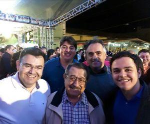 Luciano Cartaxo visita Solânea ao lado de Maranhão e lideranças do PMDB