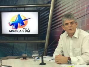 """""""Se o PMDB quiser nos apoiar vamos discutir"""", diz Ricardo ao negar apoio a Maranhão"""
