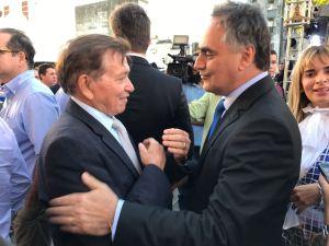 Cartaxo e João Henrique se aproximam e articulam visita do prefeito a Monteiro
