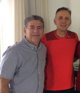 BASTIDORES: Aguinaldo Ribeiro se reúne com Leto Viana para tratar cenário de 2018