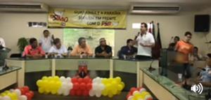 Gervásio participa de encontro do PSB e diz que projeto do partido precisa continuar