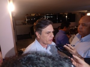 Cássio afaga Maranhão é diz que peemedebista é capaz de unir oposições na PB