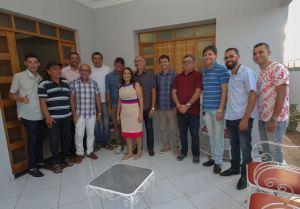 Em agenda no Sertão, Romero Rodrigues visita o prefeito de Santa Luzia e lideranças