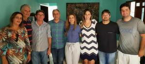 Lucélio intensifica contatos políticos e visita lideranças de Sousa e região