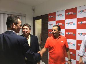 Marcos Vinícius se reúne com presidente nacional do Avante e alimenta especulações