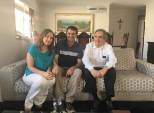 Romero recebe Lira para tratar sobre pautas política e administrativa