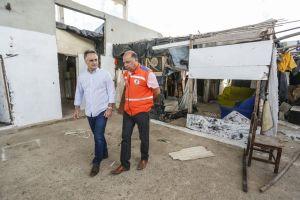 Prefeito acompanha mudança dos novos moradores para Residencial em Gramame