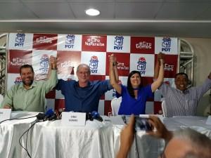 """Presidente nacional do PDT reivindica apoio de Ricardo a Lígia: """"É o melhor nome"""""""