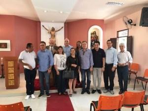 BASTIDORES: Cartaxo e Manoel Jr se reúnem com Aguinaldo para discutir cenário político