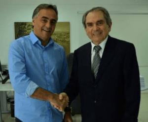 Após encontro com Cartaxo, Lira anuncia rompimento politico com Ricardo Coutinho