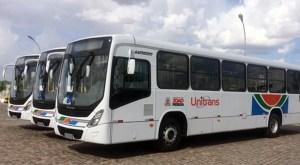 Luciano Cartaxo participa de solenidade de  entrega  33 novos ônibus nesta terça-feira