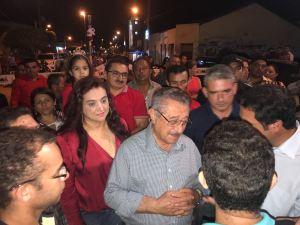 Eleições 2018: Em pré-campanha, Maranhão participa da Festa de Reis em Tacima