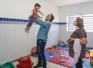 Prefeitura de João Pessoa entrega 59ª creche em novo padrão e amplia vagas na unidade
