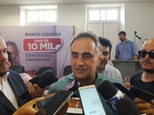 """Cartaxo volta a enaltecer nome de Lucélio para o governo: """"É um quadro novo, mas não novato"""""""