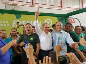 """Lira diz que apoio a pré-candidatura do PV é definitivo: """"Ao lado de Lucélio, vamos ganhar a eleição"""""""