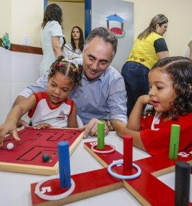 Prefeitura de João Pessoa chega a marca de 60 creches com novo padrão de qualidade nesta quinta-feira