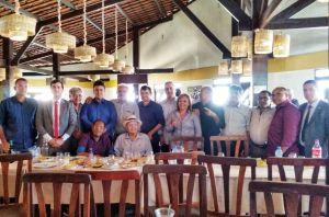 Em Campina, Lucélio se encontra com Romero Rodrigues, deputados e 17 vereadores