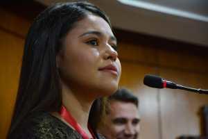 Emoção e muita música na homenagem da Câmara de João Pessoa a cantora mirim Eduarda Brasil
