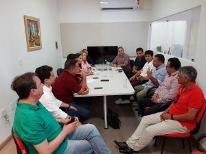 FORTALECIDO: Lucélio dialoga e recebe apoio de mais oito prefeitos