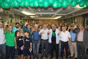 Com a presença de Cartaxo, Amorim lança pré-candidatura a deputado federal