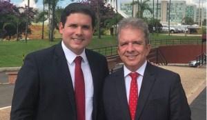 Em busca de igualdade na disputa, Hugo Motta e Nabor Wanderley oficializam saída do MDB