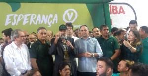 Presidente nacional do PV diz que candidatura de Lucélio é o instrumento de mudança na política