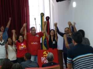 Durante Encontro Estadual, PC do B oficaliza pré-candidatura de Gregória Benário ao Senado