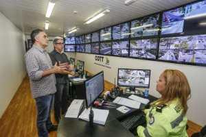 Cartaxo visita Centro Operacional da Semob e destaca trabalho realizado durante greve dos caminhoneiros