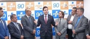 EXCLUSIVO: PROS anuncia apoio à pré-candidatura de João Azevêdo nesta segunda-feira