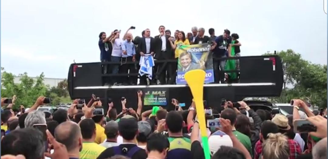 """""""Não teremos outra chance de romper a polarização PT x PSDB, diz Bolsonaro em Campina Grande"""
