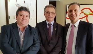Prefeito Joaquim Hugo destaca atuação de Aguinaldo Ribeiro e Galego Souza em prol de Riacho dos Cavalos