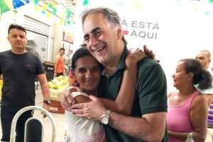 """""""Estamos plantando as sementes para ver crescer uma Paraíba melhor"""", diz Lucélio no Mercado da Torre"""