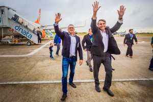 """Bolsonaro dá carta branca para Julian Lemos conduzir alianças na PB: """"É meu irmão camarada"""""""