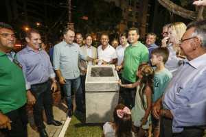 Prefeito entrega praça no Altiplano e oferece mais um espaço de lazer para a população