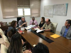 Daniella Ribeiro é recebida por Ricardo para debater violência na Paraíba