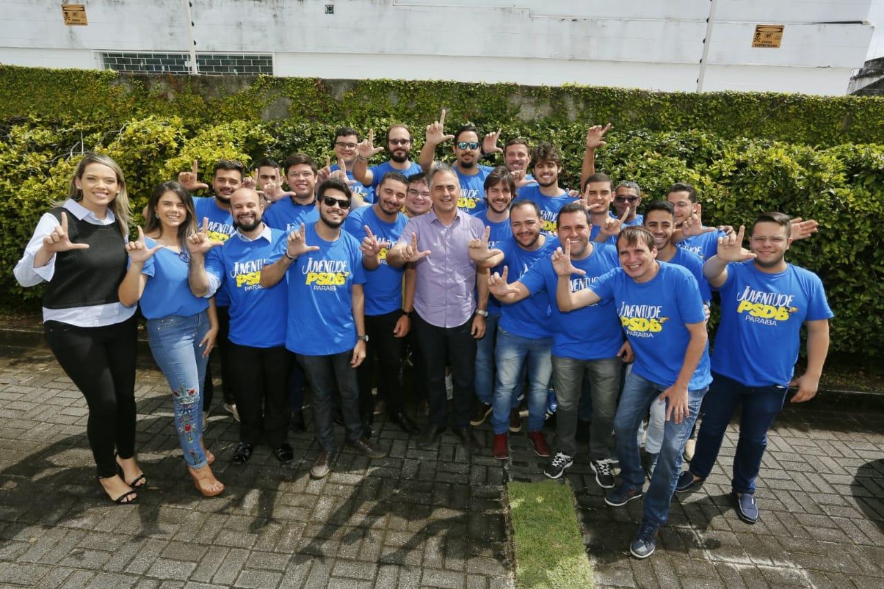 Reunido com a juventude do PSDB, Lucélio diz que Estado que não dialoga não avança